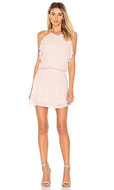 Lulu Solid Mini Dress en Dusky Pink