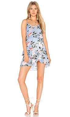Love Print Mini Dress in Chambre Rose