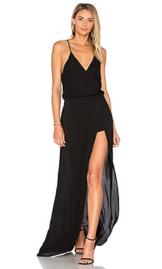 Aculina Solid Dress en Negro