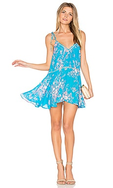 Verano Print Mini Dress in Candy Floral