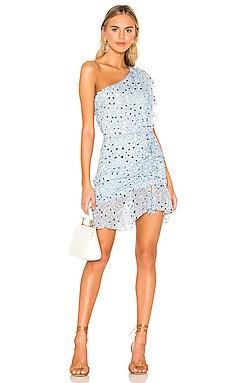 Tana Print Mini Dress Karina Grimaldi $306