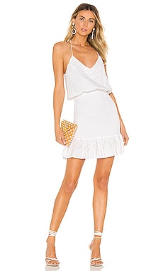 Vanessa Embellished Mini Dress Karina Grimaldi $87
