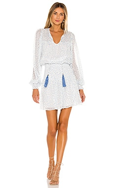 Vintage Print Mini Dress Karina Grimaldi $262