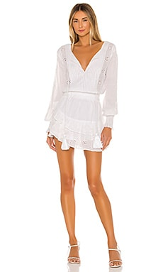Nora Long Sleeve Mini Dress Karina Grimaldi $306 NEW ARRIVAL
