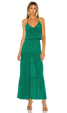 Karina Solid Maxi Dress Karina Grimaldi $350 NEW ARRIVAL