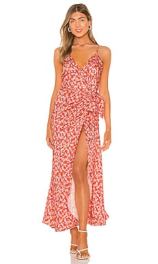 Sofia Print Maxi Dress Karina Grimaldi $197