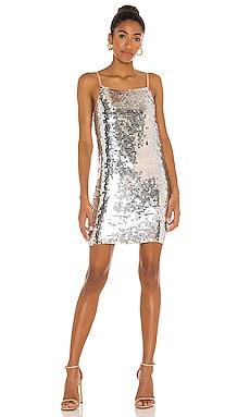 Martina Beaded Mini Dress Karina Grimaldi $262