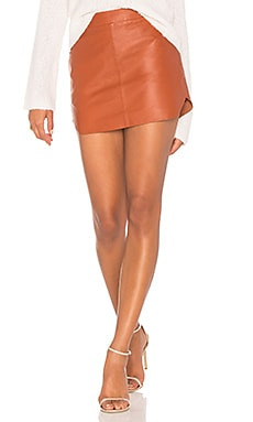 Jacob Leather Skirt