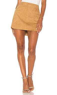 X REVOLVE Jacob Suede Skirt