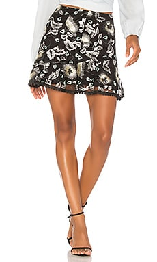 Samantha Lace Mini Skirt