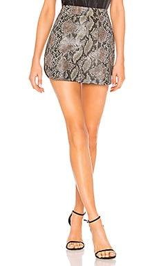 Simone Snake Skirt Karina Grimaldi $168