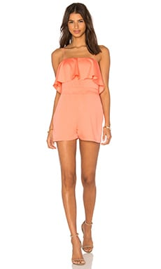 Paco Romper in Coral