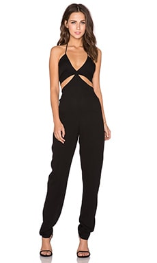 Karina Grimaldi Mateo Jumpsuit in Black