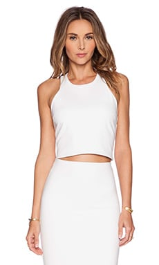 Karina Grimaldi Remi Top in White
