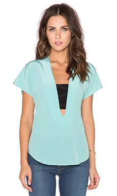 Karina Grimaldi Piagel Top in Mint