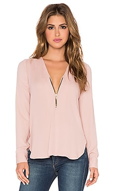 Karina Grimaldi Sofia Top in Blush