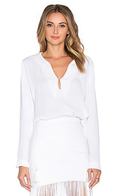 Karina Grimaldi Pilar Top in White