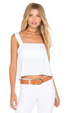 Karina Grimaldi Awada Solid Top in White