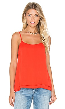 Lina Solid Top in Fuego