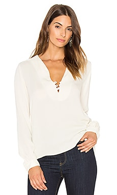Sky Solid Top in Ivory