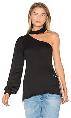 Tanya Solid Top in Black