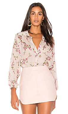 Paolina Bell Sleeve Button Up