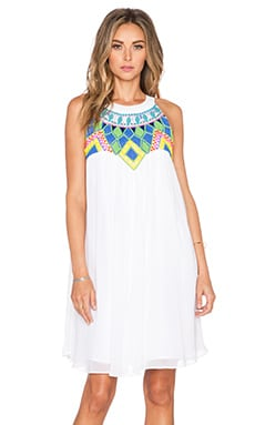 KAS New York Kana Dress in White