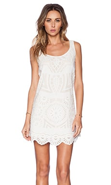 KAS New York Sanjana Mini Dress in White