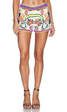 KAS New York Maelle Sequin Short in Multi