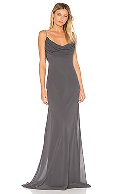 Eden Gown in Charcoal