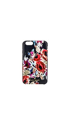 kate spade new york Hazy Floral iPhone 6 Case in Rich Navy