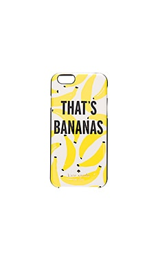 kate spade new york That's Bananas iPhone 6 Case in Cream Multi