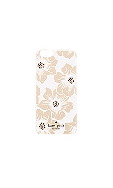 kate spade new york Jeweled Hollyhock iPhone 6/6s Case in Clear