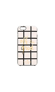kate spade new york Off The Grid iPhone 6/6s Case in Light Pink Multi