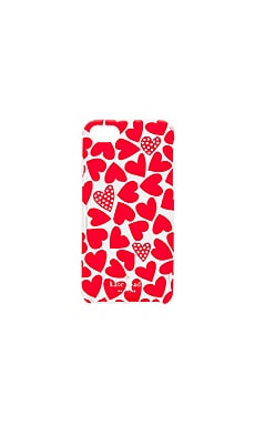 Scattered Hearts iPhone 7 Case