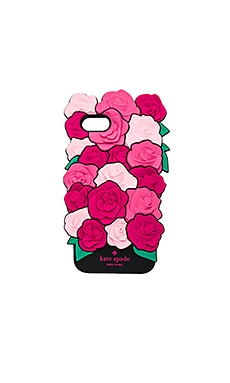 COQUE IPHONE7 SILICONE ROSE
