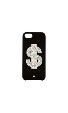 kate spade new york Money Sign iPhone 5 Case in Black
