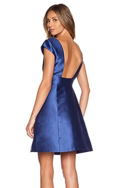 kate spade new york Backless Mini Dress in Hyacinth