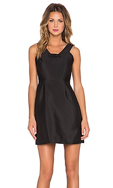kate spade new york Bow Mini Dress in Black