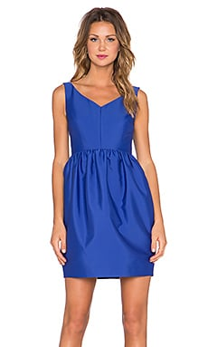 kate spade new york Cupcake Skirt Dress in Lapis Blue