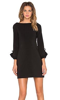 Платье с рюшами на рукавах - kate spade new york