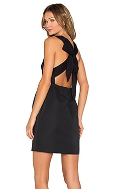 kate spade new york Bow Back Dress in Black