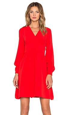 kate spade new york Tie Waist Dress in Lollipop Red