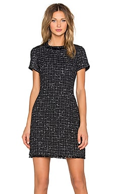 kate spade new york Woodland Tweed Sheath Dress in Black