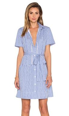 Pinstripe Shirt Dress