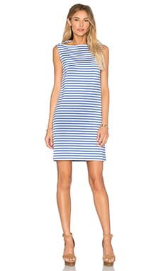 kate spade new york Stripe Everyday Shift Dress in Classic Mens Blue