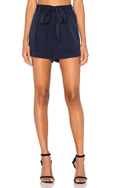 kate spade new york Twill Short in Mill Navy