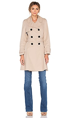 kate spade new york Classic Trench Coat in French Beige