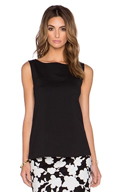 kate spade new york Bow Back Top in Black