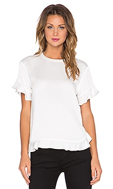 kate spade new york Ruffled Top in Cream